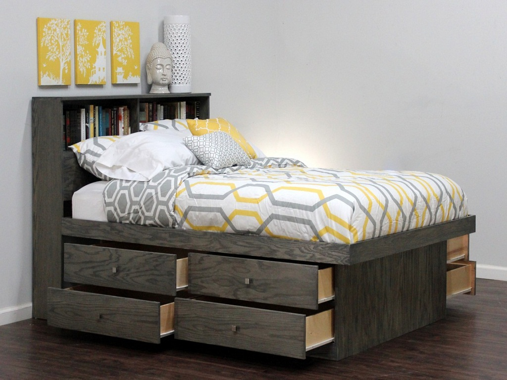 Image of: Storage Bed Queen Size