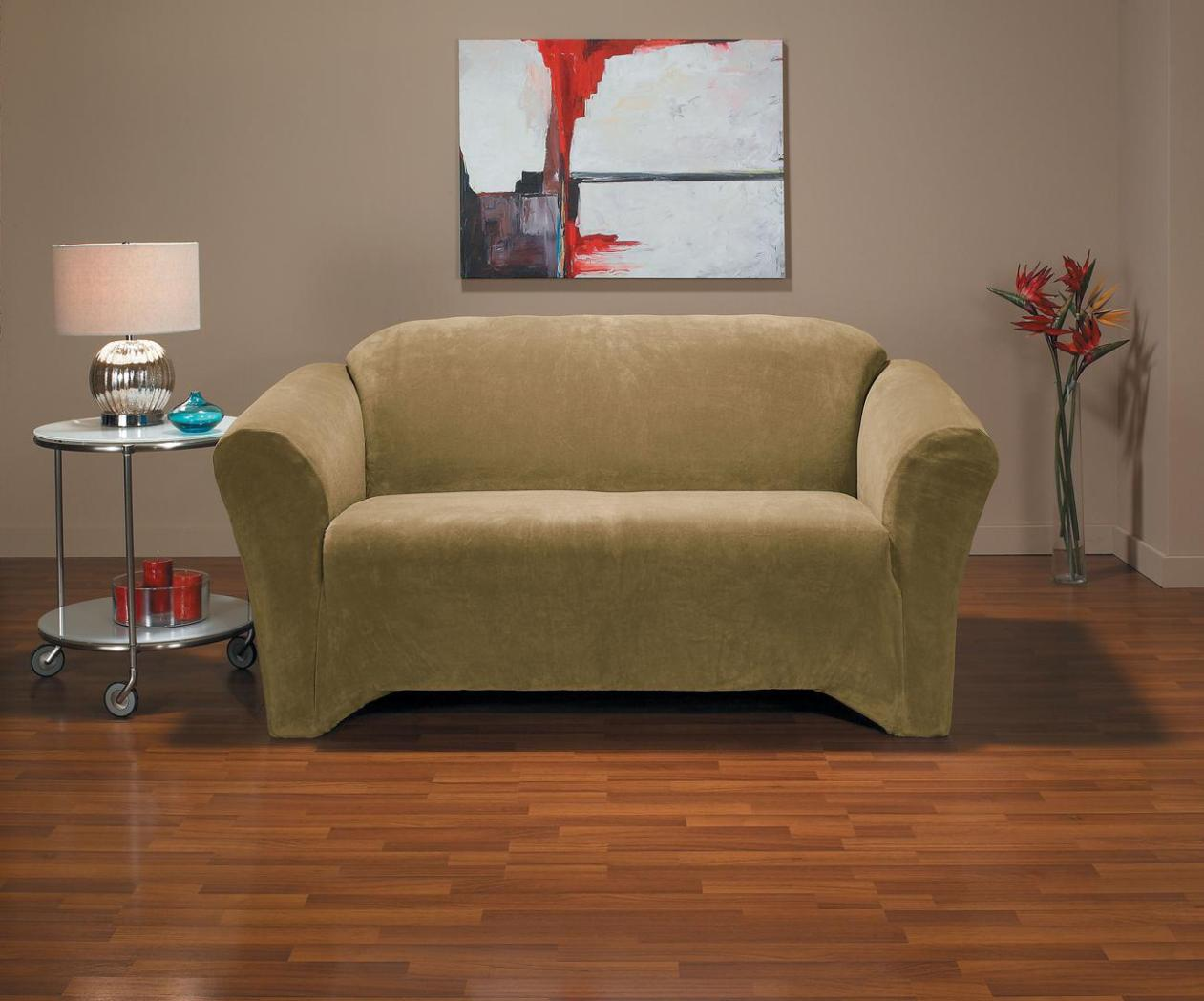 Image of: Stretch Loveseat Cover
