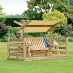 Stylish Deck Swings with Canopy