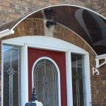 Stylish Front Door Awnings