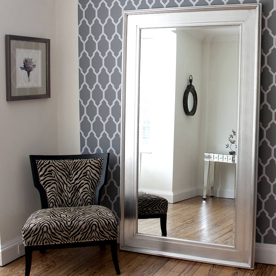 Image of: Stylish Large Oversized Wall Mirrors