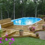 Stylish Oval above Ground Pools