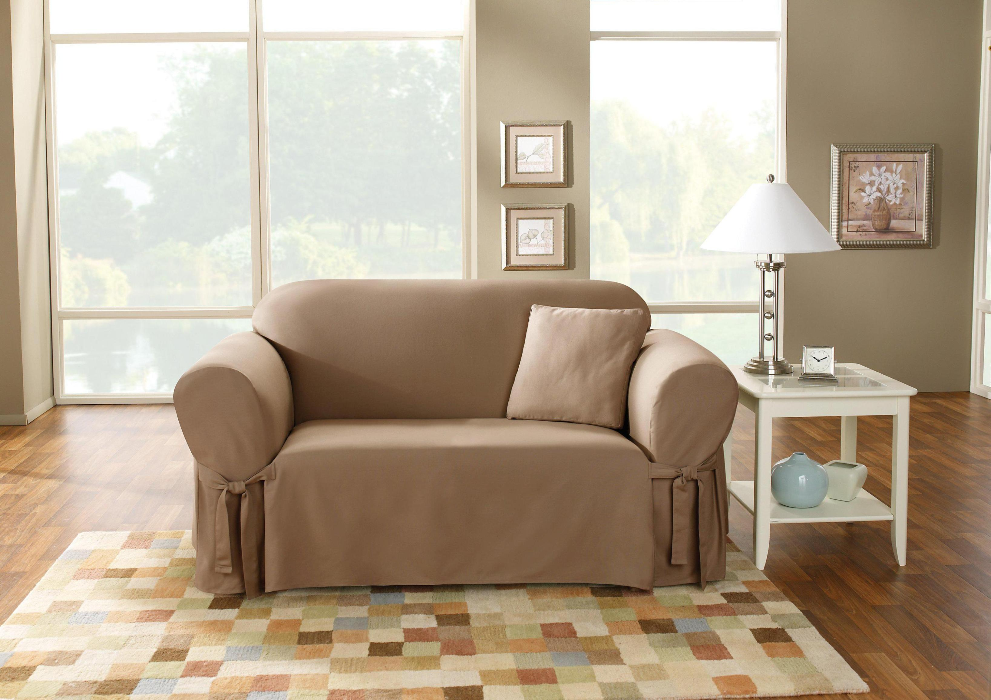 Image of: Sure Fit Loveseat Slipcover