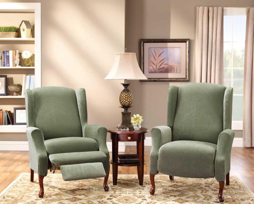 Image of: Sure Fit Recliner Slipcovers