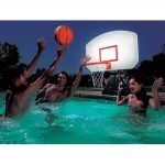 Swimming Pool Basketball Hoop Lighted