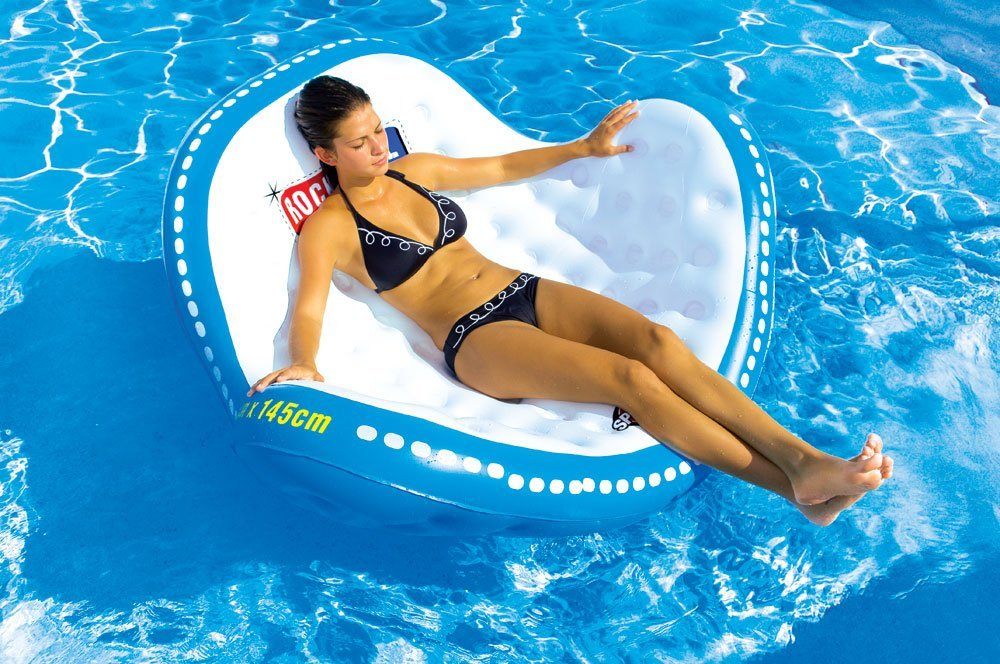 Image of: Swimming Pool Lounge Float