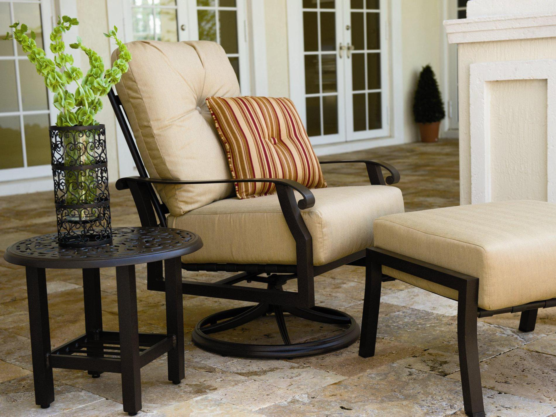 Image of: Swivel Rocker Patio Chairs