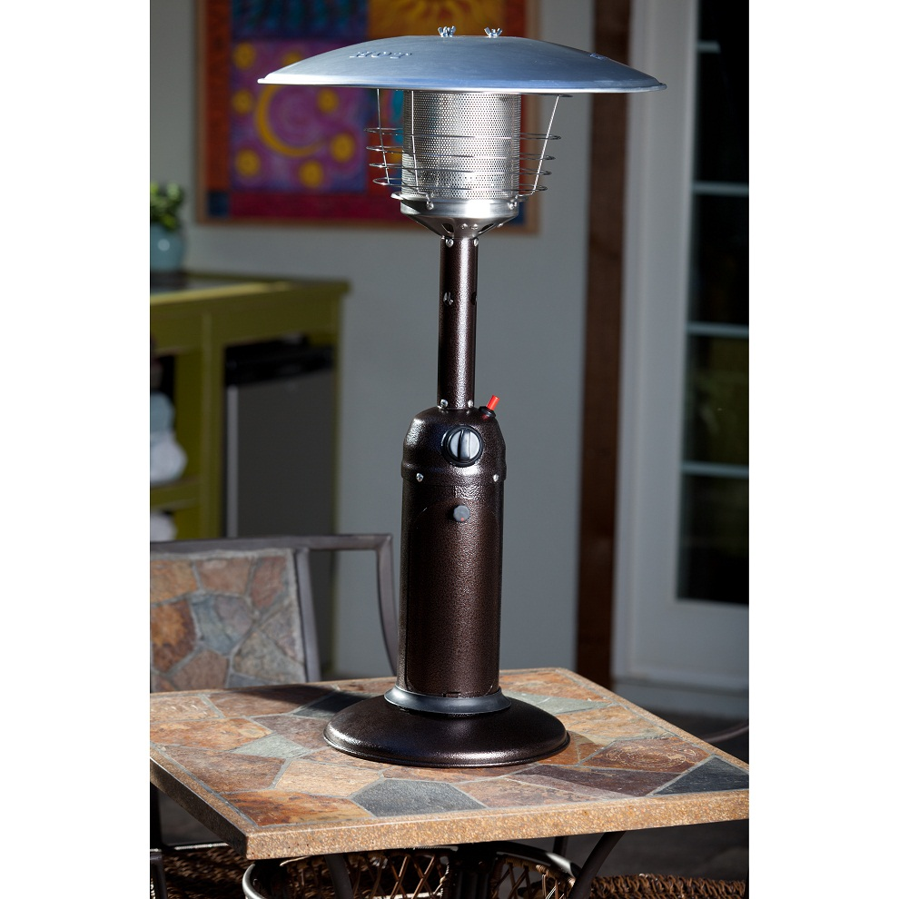 Image of: Tabletop Propane Patio Heater