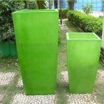 Tall Outdoor Planters pots Paint