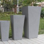 Tall Outdoor Planters Size