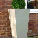 Tall Outdoor Planters Style