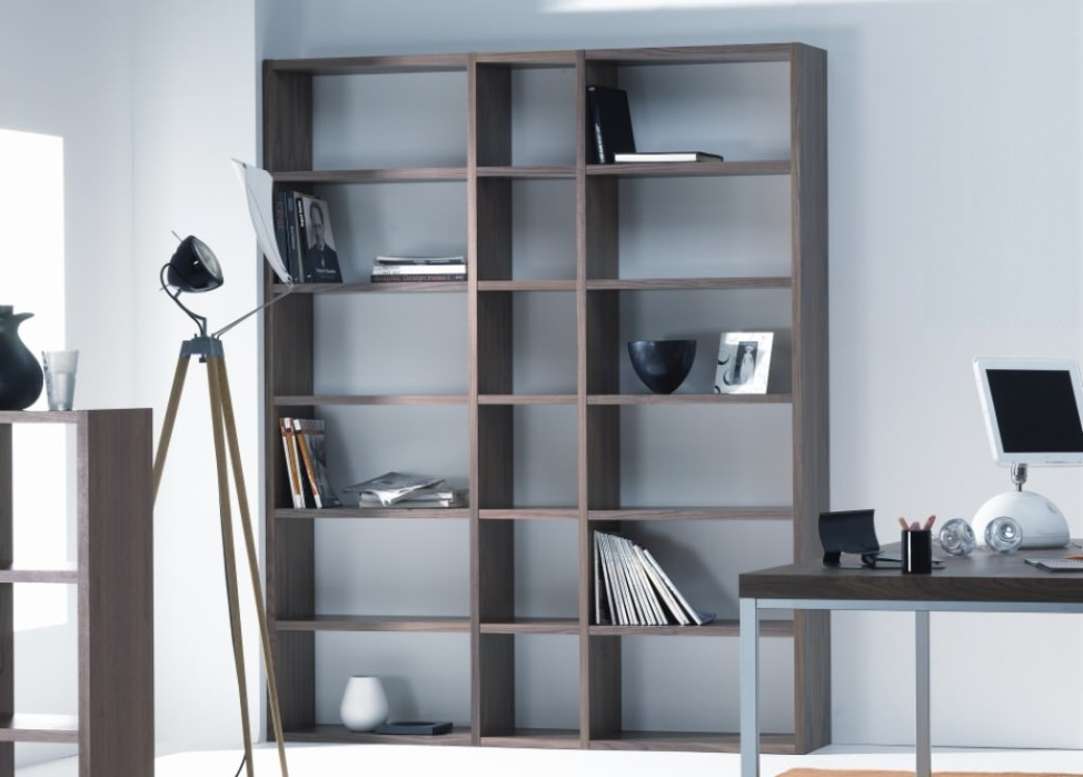 Image of: Tall bookcase cabinet