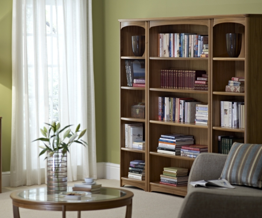 Image of: Tall bookcase white