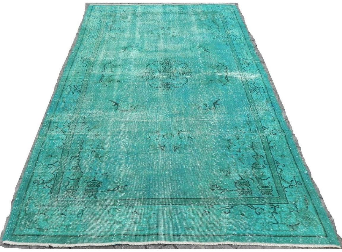 Image of: Teal Turquoise Area Rug