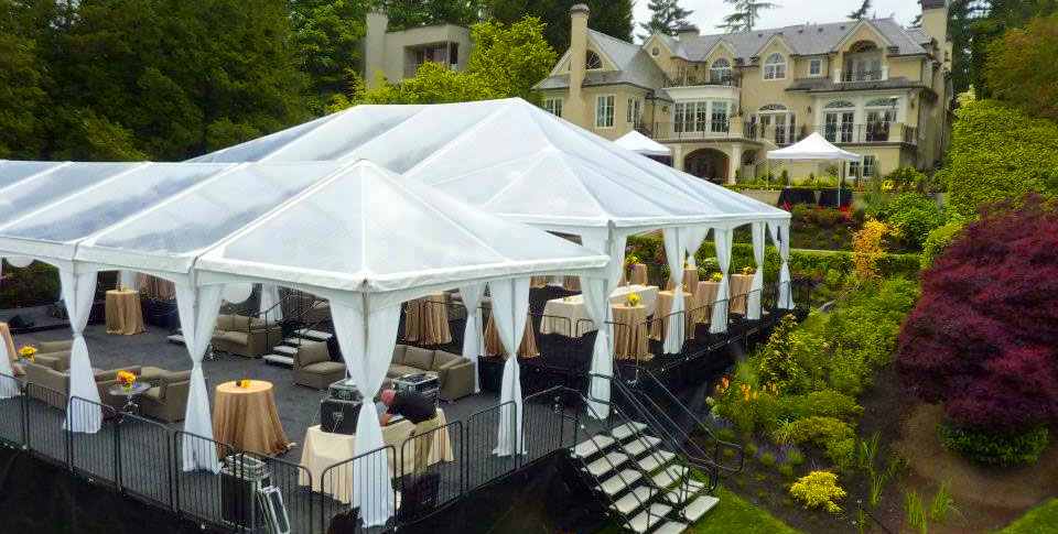 Image of: Tents and Canopies Deck