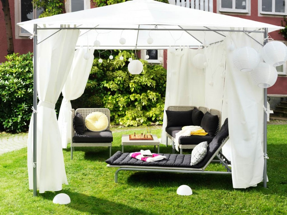 Image of: Tents and Canopies Gardem