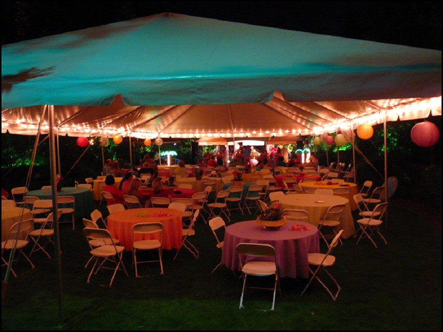 Image of: Tents and Canopies Lighting