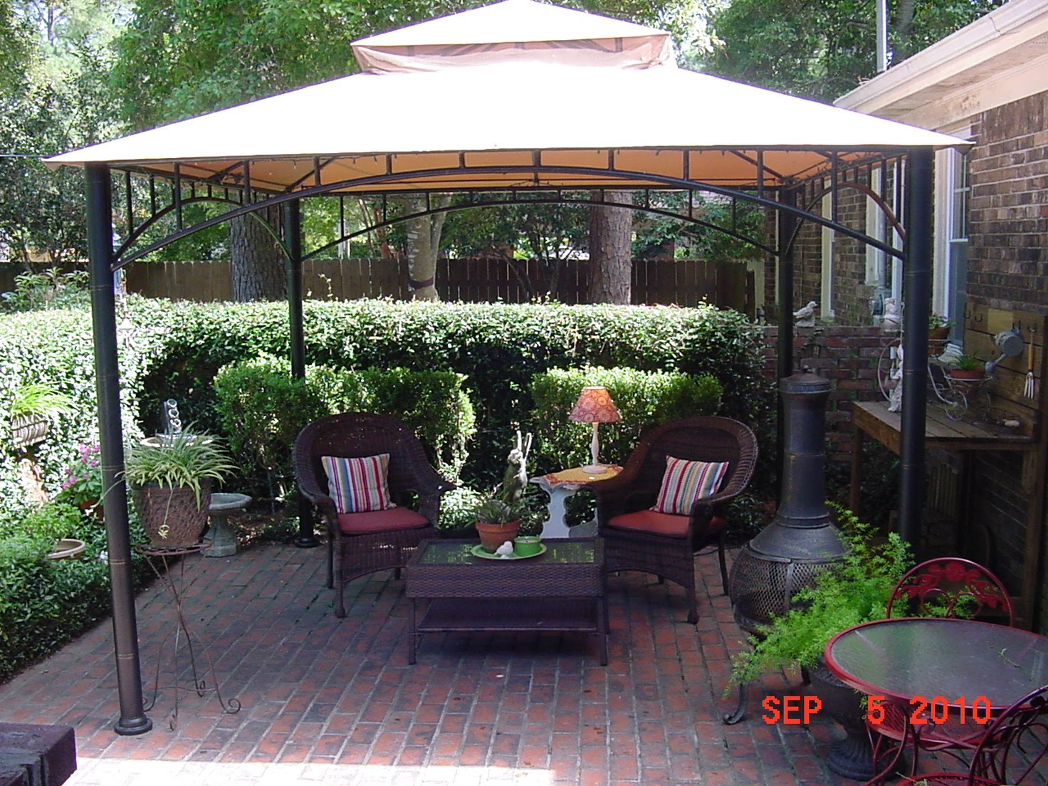 Image of: Tents and Canopies Patio