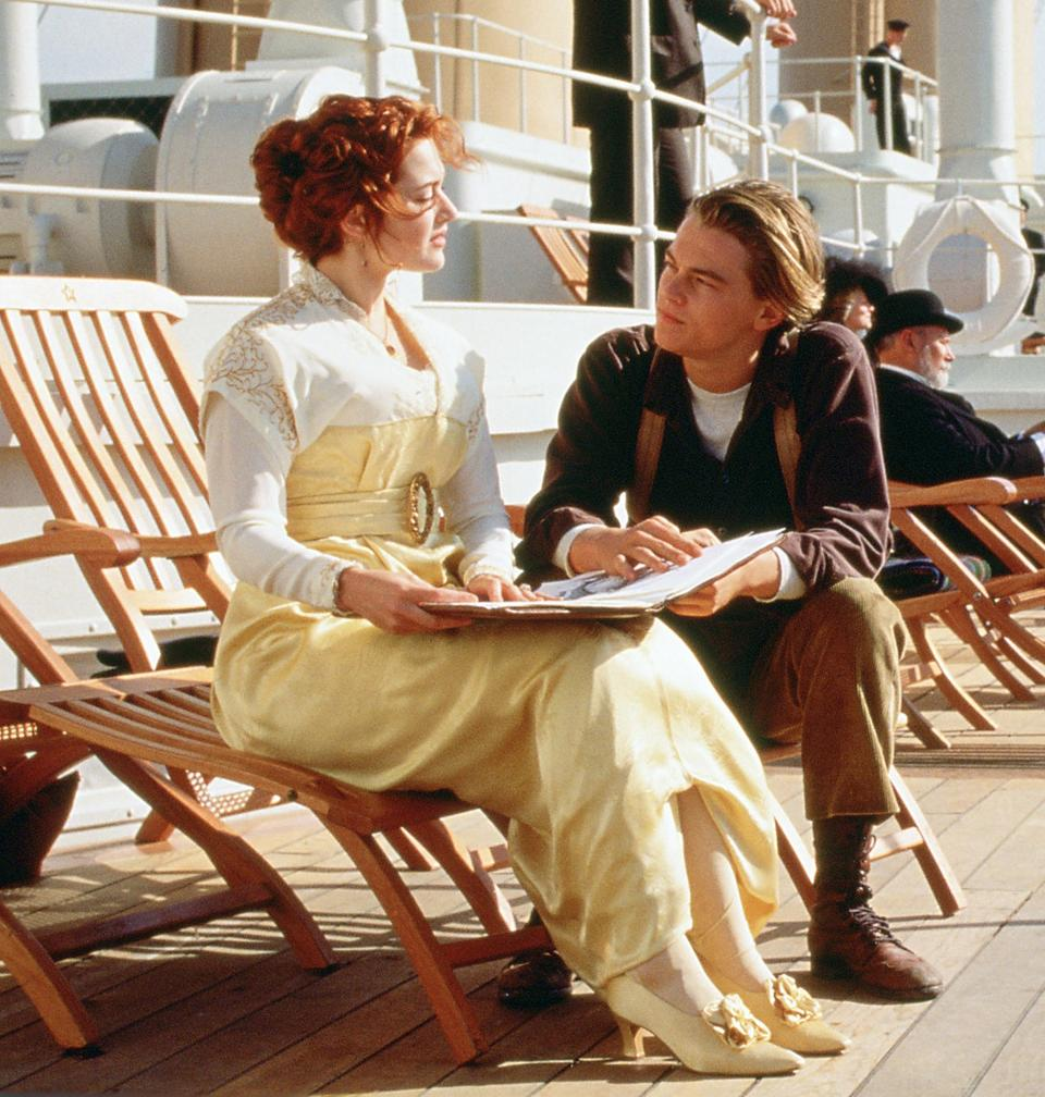 Image of: Titanic Deck Chair Sell