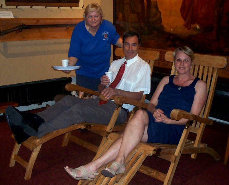 Image of: Titanic Deck Chair Winners Announced
