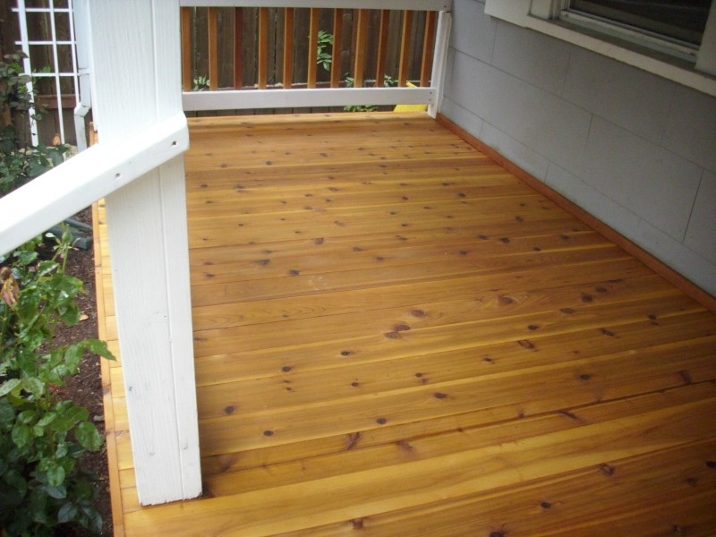 Tongue and Groove Decking Cedar