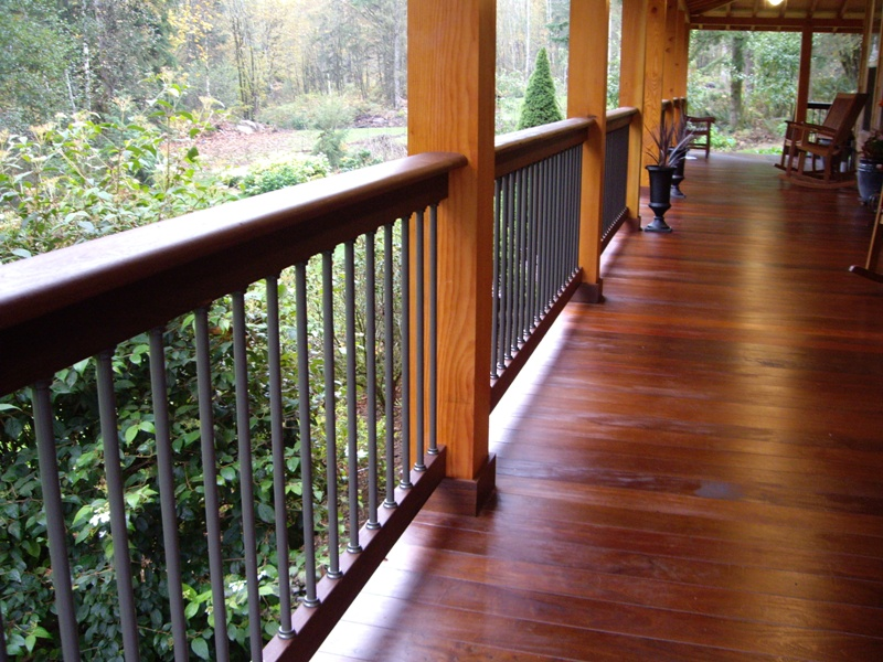 Tongue and Groove Decking Floor