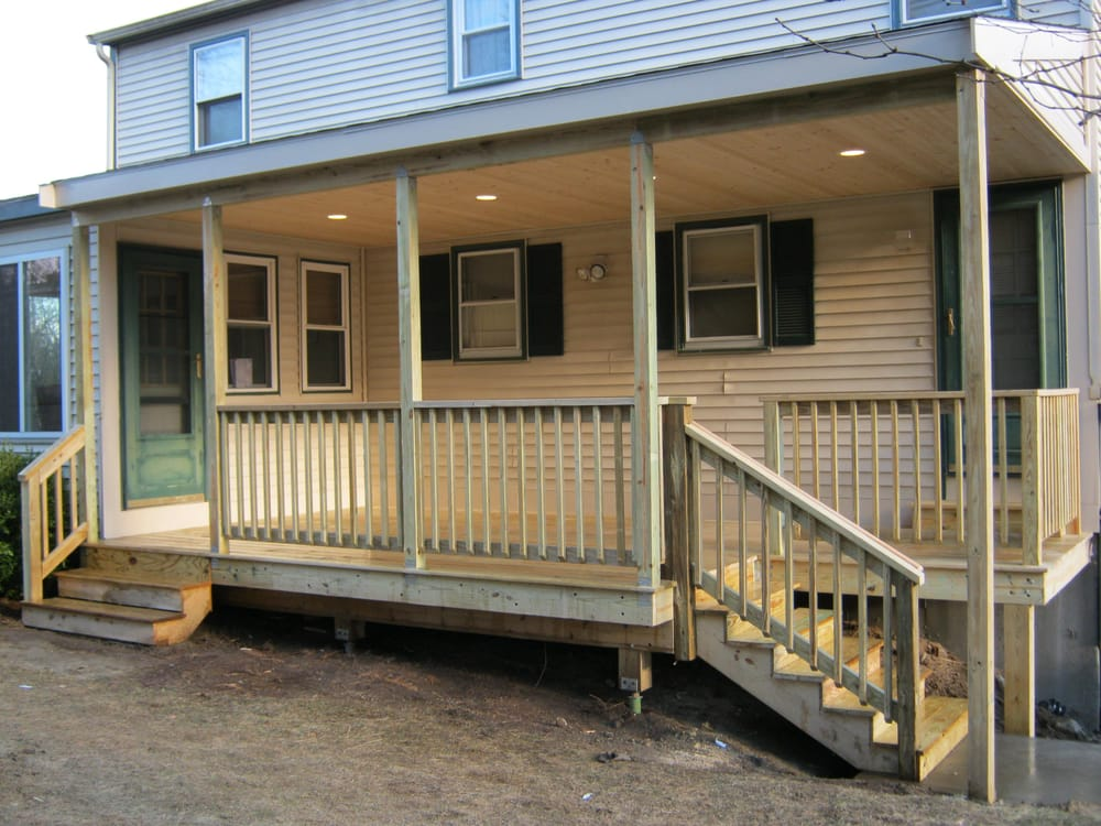 Tongue and Groove Decking Home