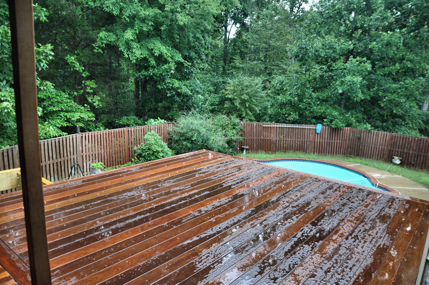 Tongue and Groove Decking Material