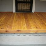 Tongue and Groove Decking Porch