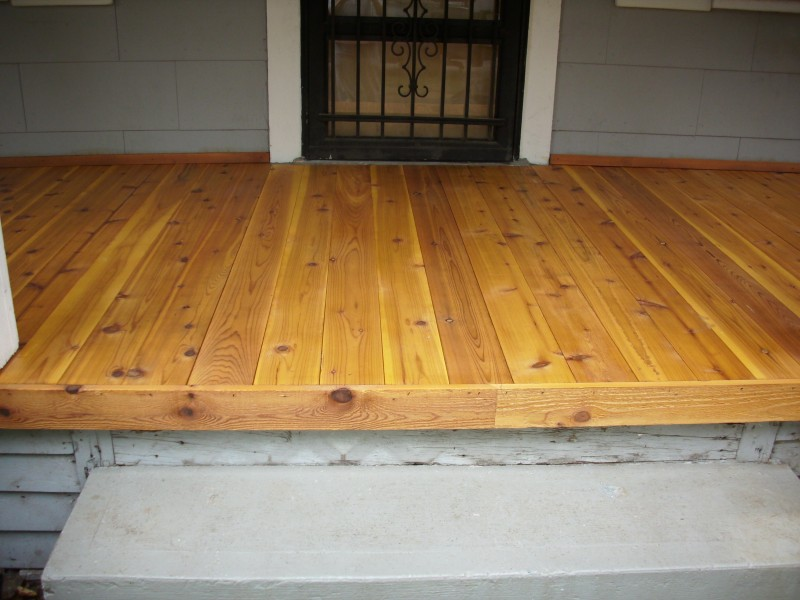 Image of: Tongue and Groove Decking Porch
