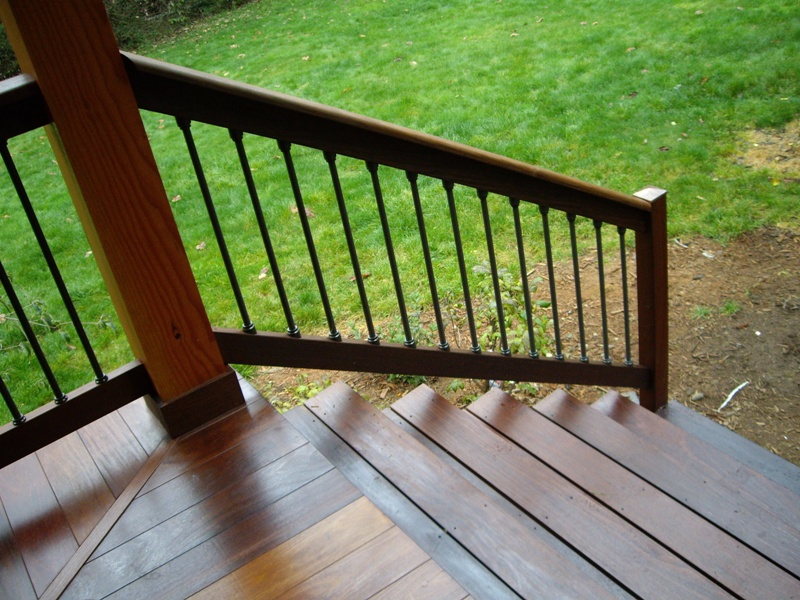 Tongue and Groove Decking Stairs