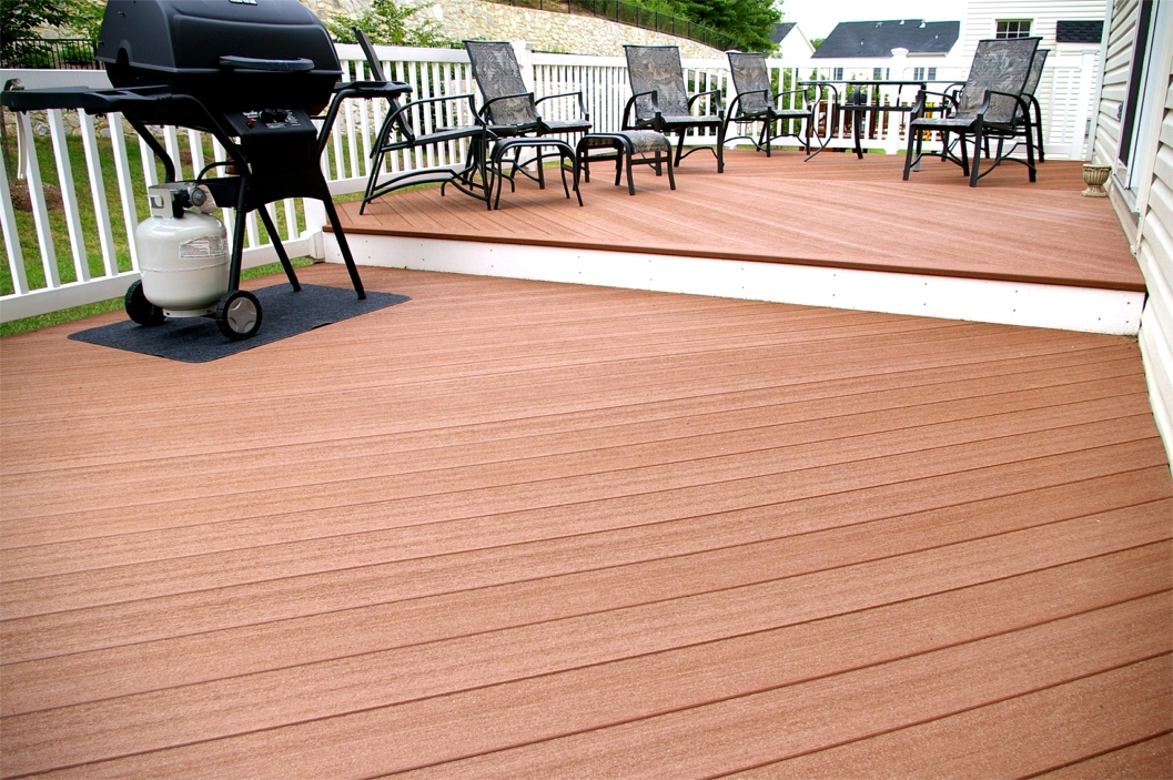 Image of: Tongue and Groove Decking Wood