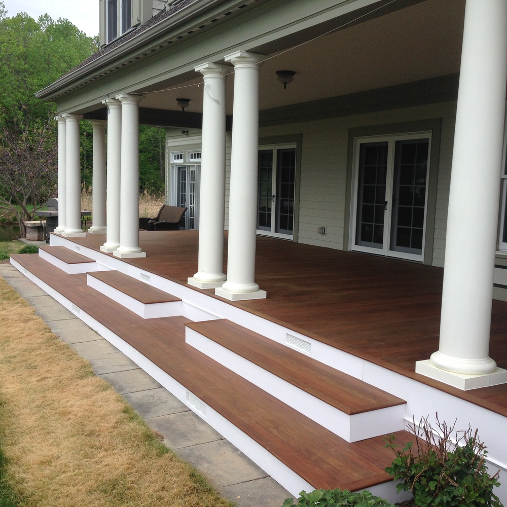 Image of: Tongue and Groove Decking