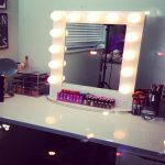 Top Lighted Vanity Makeup Mirror