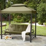 Top Patio Swing with Canopy