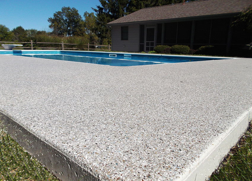 Image of: Top Resurface Pool Deck