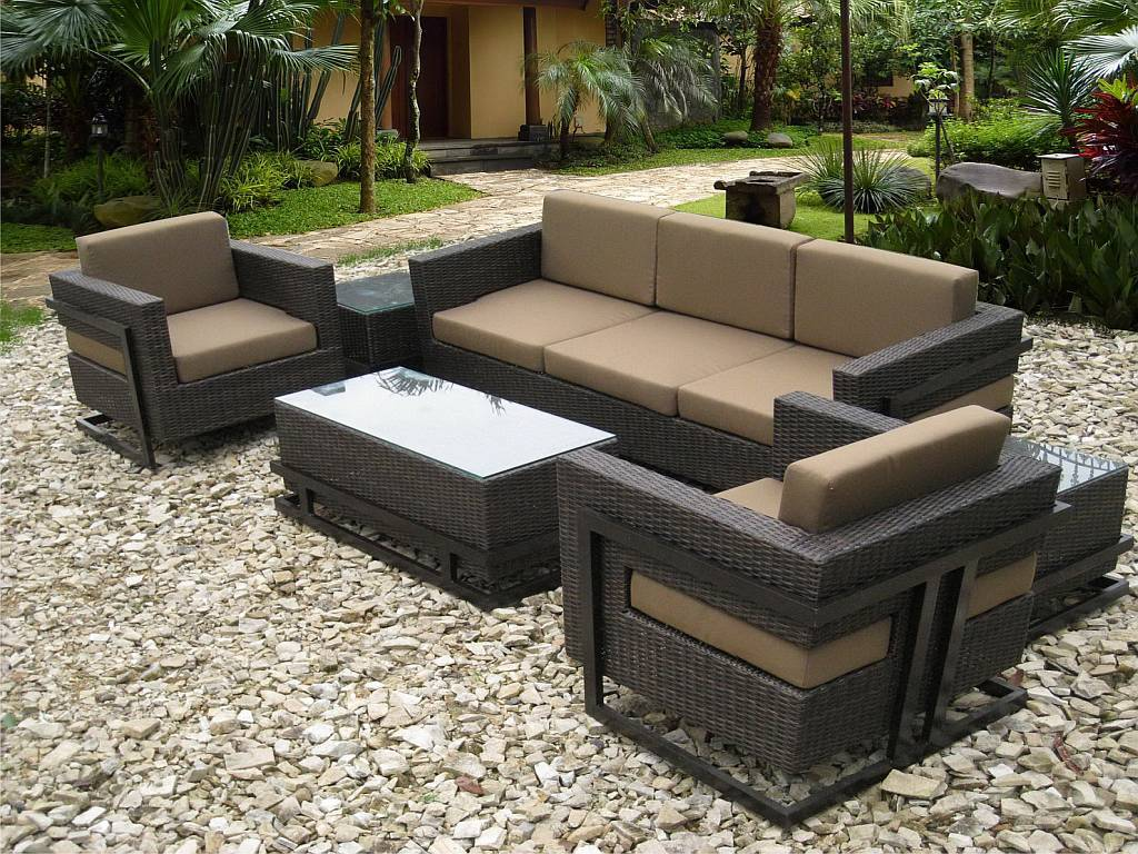 Image of: Top Wicker Patio Sets