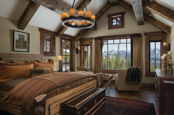 Traditional Rustic Bedroom Furniture