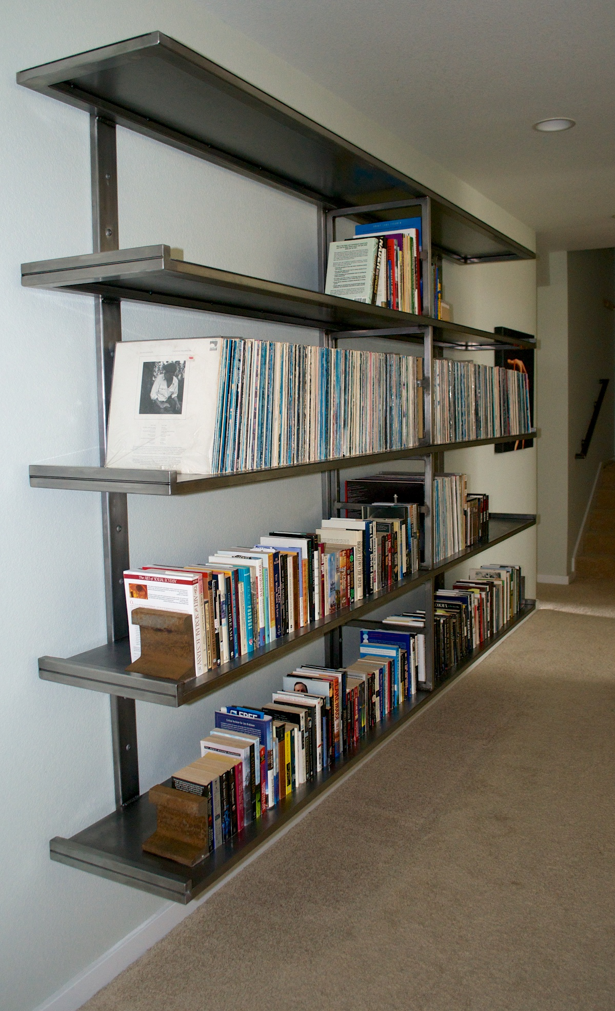 Image of: Trend Steel Bookcase