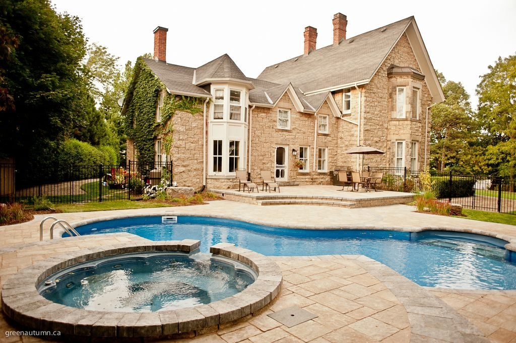 Image of: Tropical Pools Designs