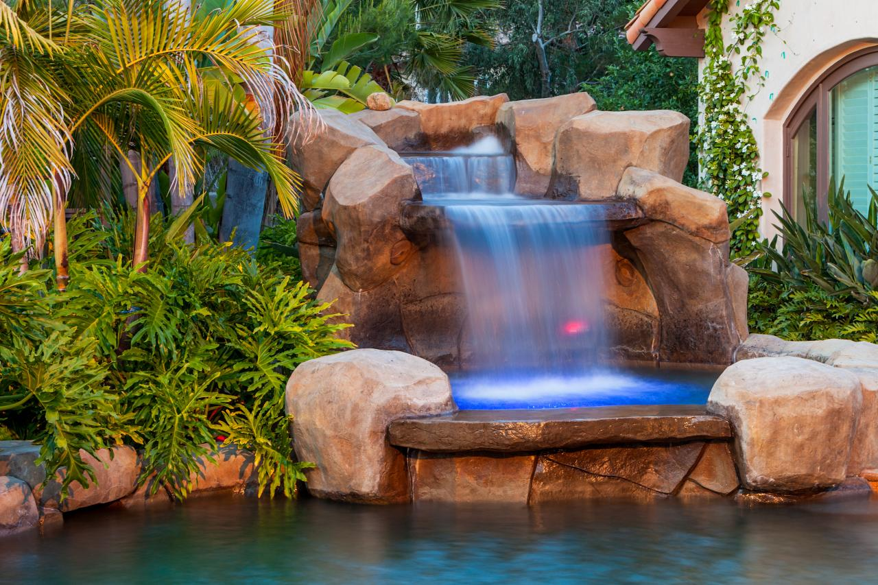 Image of: Tropical Pools Gardens