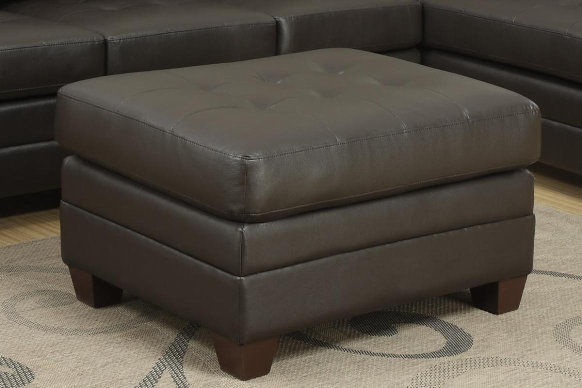 Image of: Tufted Square Ottoman