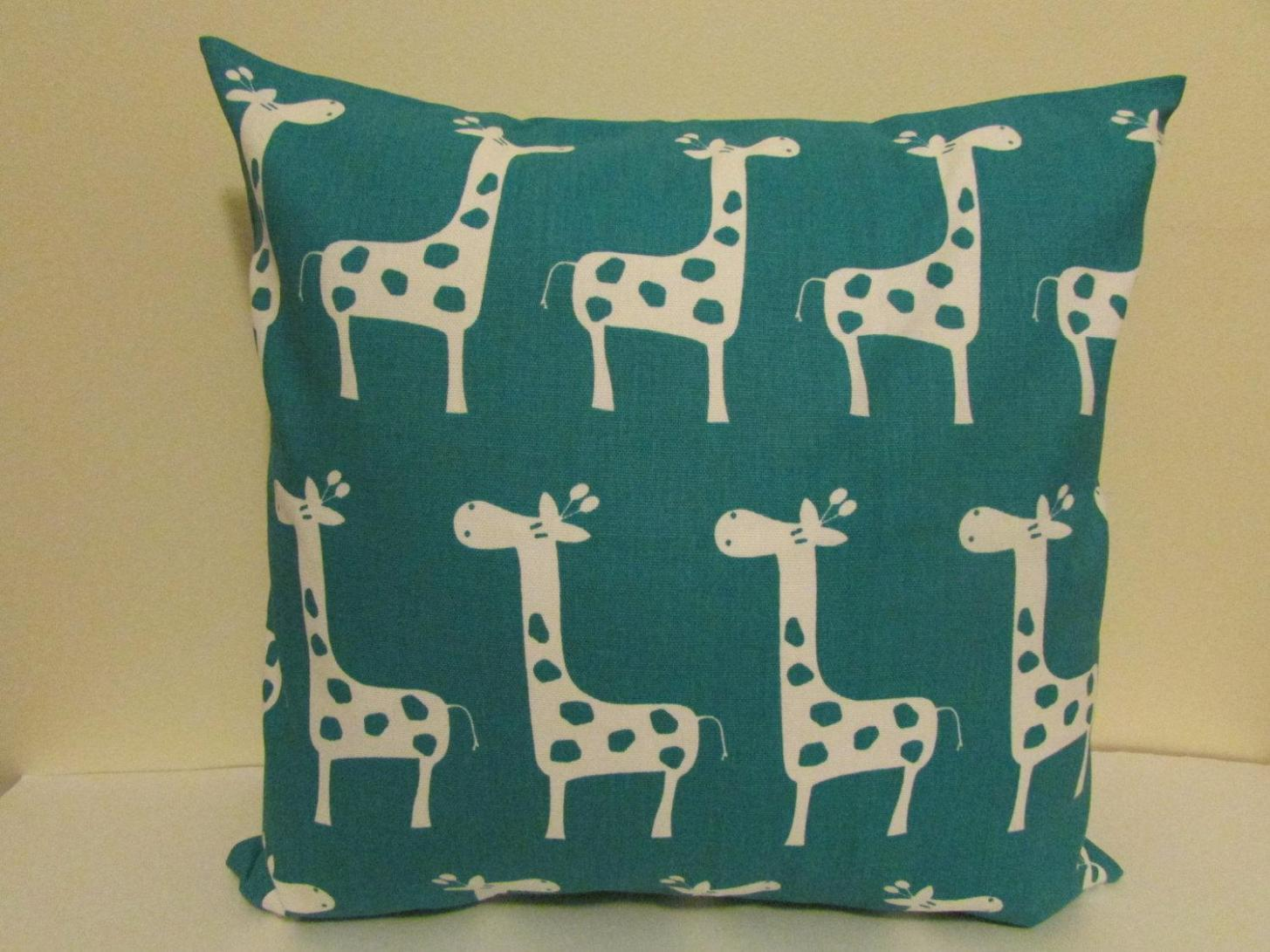 Image of: Turquoise And Navy Throw Pillows