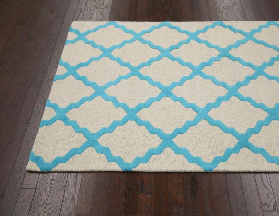 Image of: Turquoise Area Rug 5×7