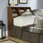 Twin Bookcase Headboard Oranizer