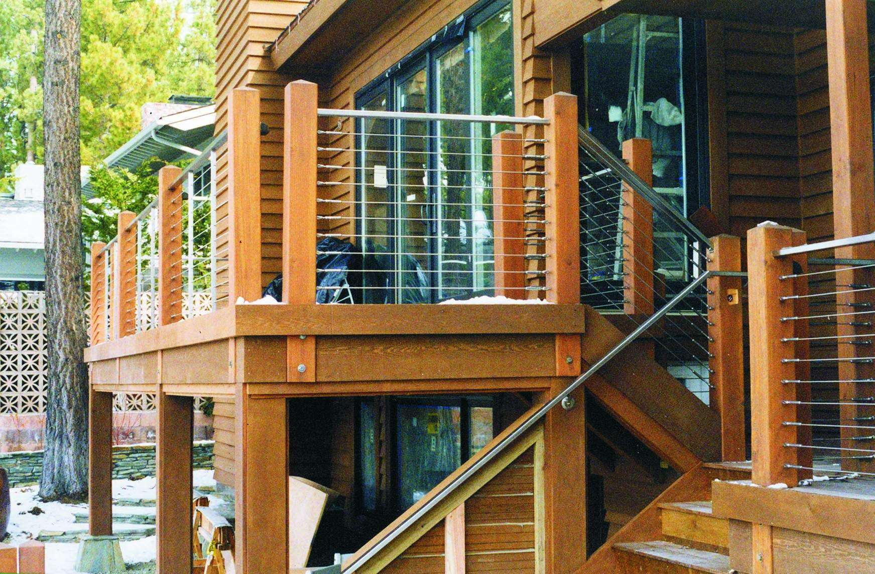 Types Cable Deck Railing Systems