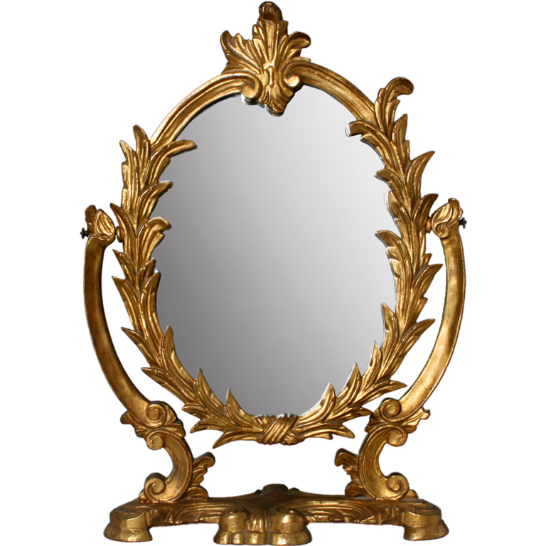 Image of: Vanity Dresser with Mirror Antique