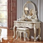 Vanity Dresser with Mirror Elegant