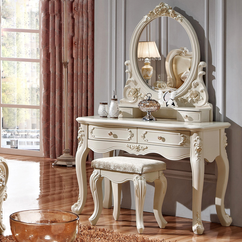 Image of: Vanity Dresser with Mirror Elegant