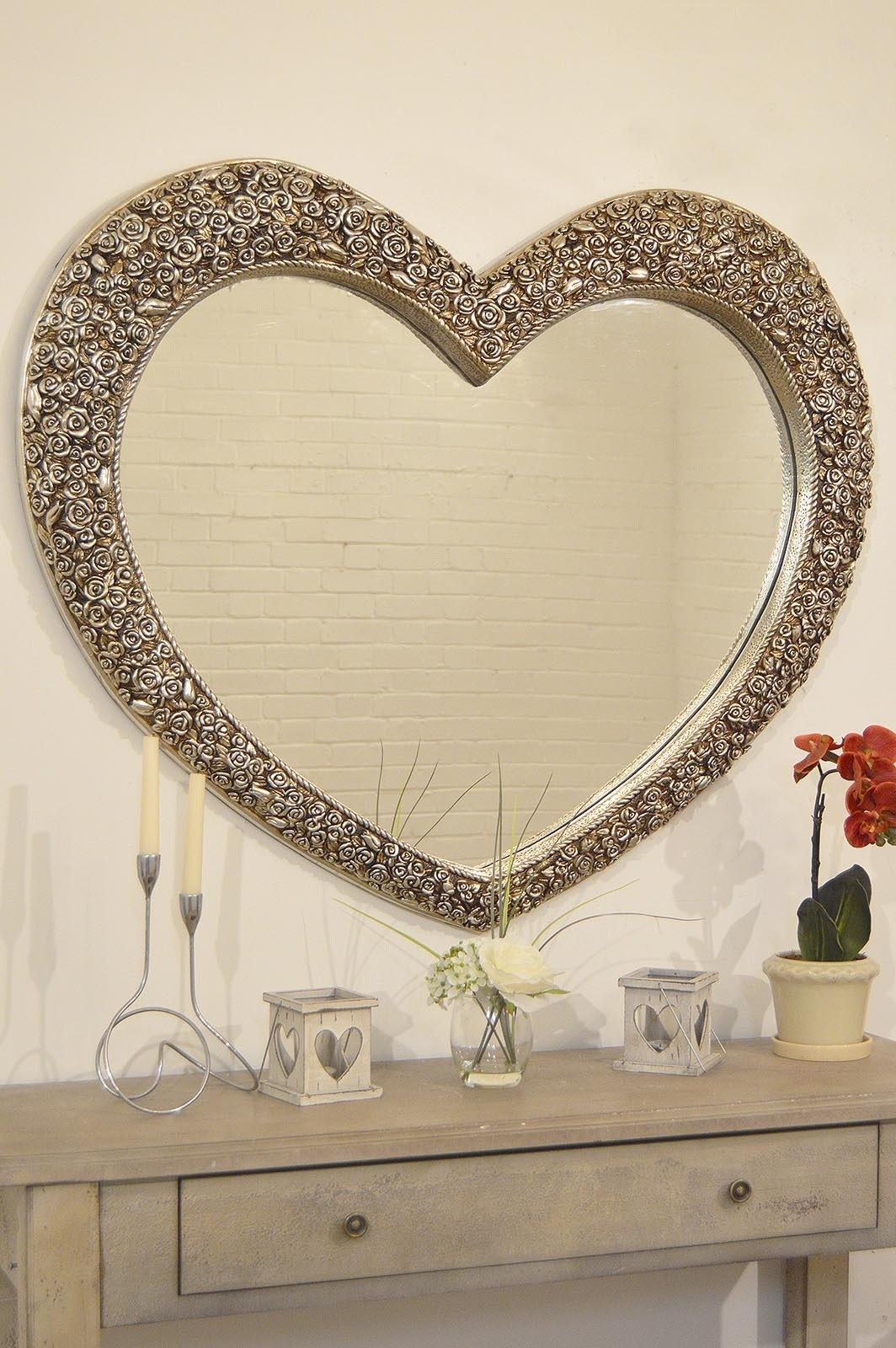 Image of: Vintage Wall Mirrors Love